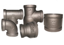 150 Black Malleable iron Fittings